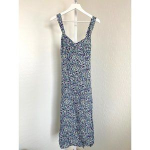 Zara Floral Print Maxi Dress